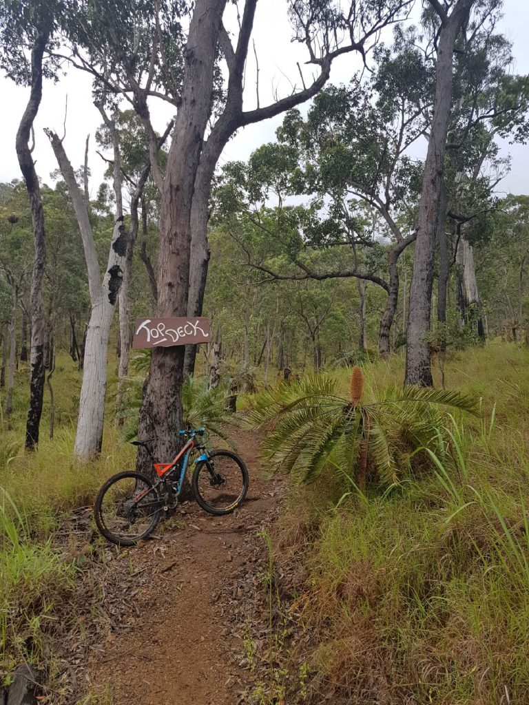 Atherton Bike Hire Atherton Tablelands Mountain Bikes and Bicycle Hire The start of Top Deck